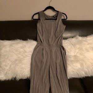 Uniqlo M Grey Jersey Jumpsuit
